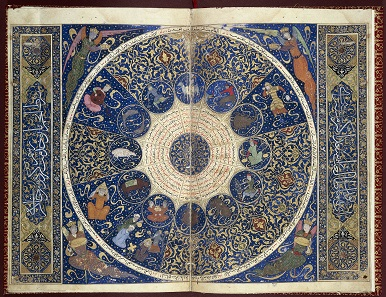 The Horoscope of Iskandar. From Shiraz, Iran, 141. Photo: © Wellcome Library, London.