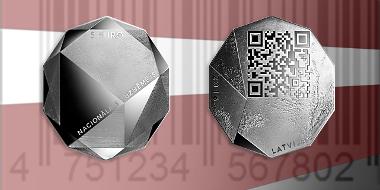 Latvia / 5 Euros / Silver .925 / 30.3 g / 12.00 mm / Design: Paulis Liepa. Plaster model: Ivars Drulle / Mintage: 3,000.