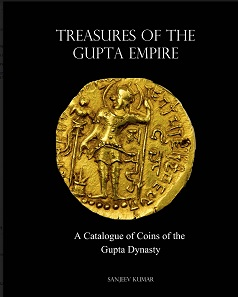 Sanjeev Kumar, Treasures of the Gupta Empire. 440 pages, color with 1500+ images/maps/charts/graphs. Printed in USA. In English. Hardcover and Jacket & Limited Edition Leather Bound version available. ISBN 978-1-320-99805-5. Rs 9,000 (Hardcover), Rs 10,000 (Limited Edition), plus shipping.