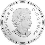 Canada / 20 Dollars / Silver .9999 / 31.39g / 38mm / Design: Chris Jelf (reverse) and Susanna Blunt (obverse) / Mintage: 10,000.
