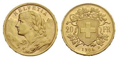 Und endlich das Vreneli. Aus Auktion Sincona 13 (2013), 2924.