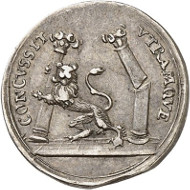 Lot 1580: Swedish territories. Charles XI, 1660-1697. Small silver medal no date (around 1692), unsigned, on his diligent reign in Pomerania. Ex Ottar Ertzeid Collection. Good very fine. Estimate: 50 euros.