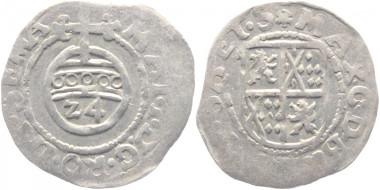 Los 1368: Niederlande-Batenburg, Baronie. Maximilian von Bronckhorst 1602-1641. 1/24 Taler. Sehr schön. 1.675 Euro.
