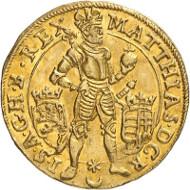 Matthias. Dukat 1618, Prag. Künker 285 (2016), 230. Schätzung: 4.000 Euro.