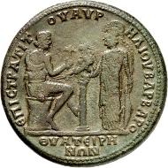Los 215: Thyateira (bei Akhisar). Commodus, 177-192. Medaillon. ss. Schätzpreis: 1.000 EUR.