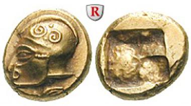 Griechenland. Ionien, Phokaia. Hekte 521-478 v.Chr. Vorzüglich. Sonderpreis: 4.650 EUR.