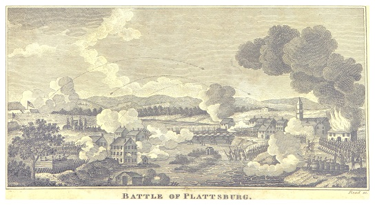 The Battle of Plattsburgh.