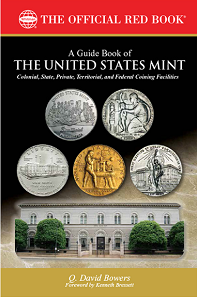 Q. David Bowers, A Guide Book of the United States Mint. Foreword by Kenneth Bressett. ISBN 0794843972. Softcover, 6 x 9 inches, 448 pages, full color. Retail 24.95 USD.