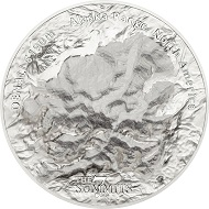 Cook Islands / 25 Dollars / Silver. 999 / 5 oz / 65mm / Mintage: 777.