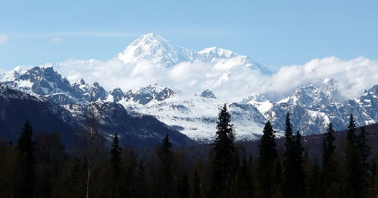 Denali, formerly known as Mt. McKinley. Photo: Sbork / Wikimedia Commons / CC BY-SA 3.0.