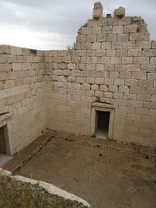 Tempel der Anahita. Foto: KW.