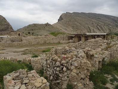 Der Palast Shapurs I. Foto: KW.