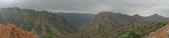 Ein eindrucksvolles Panorama. Foto: KW.
