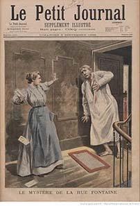 Die illustrierte Beilage vom 6. September 1896. Quelle: Gallica, digitale Bibliothek der Bibliothèque Nationale de France.