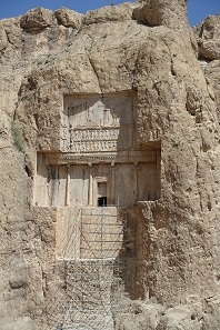 Das Grab Xerxes I. Foto: KW.