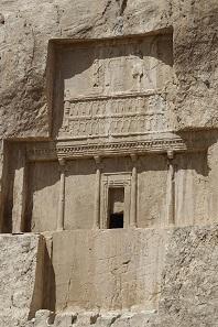 Das Grab von Darius I. Foto: KW.