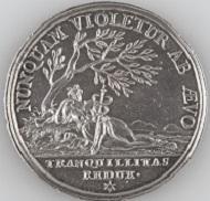 Silbermedaille 1697 auf den Frieden von Rijswijk, unsigniert (Königreich Schweden). Mannheim, Reiss-Engelhorn-Museen. Foto: © rem, Maria Schumann.
