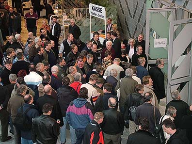 Rush on the NUMISMATA - The Munich coin fair is the most important event in Europe in the field of Classical Numismatics.