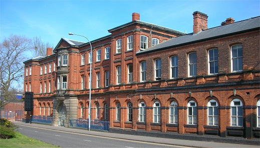 A glance at the now closed Birmingham Mint, a typical building of the 19th cent. Photo: Oosoom / CC BY-SA 3.0