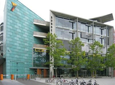 Hauptsitz der Bundesdruckerei in Berlin 2005. Foto: Johann H. Addicks / GFDL 1.2