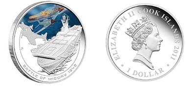 Cook Islands - Mintage: 5.000 - 1 CID - 1 oz silver - 99,9 % Fineness - Weight: 31.135 g - Diameter: 40.6 mm - Designer: Darryl Bellotti.