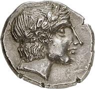 Nr. 235: Simon, Dynast (Illyrien). Tetradrachme, ca. 355. Unikum, HGC Titelbild. Aus der Sammlung eines Münchner Arztes. Gutes vorzüglich. Taxe: 15.000,- Euro.