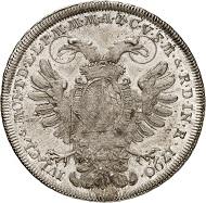 Nr. 3051: Bayern. Karl Theodor, 1777-1799. Vikariatstaler, 1790, München. Auf das Vikariat. 2. bekanntes Exemplar. Vorzüglich bis Stempelglanz. Taxe: 15.000,- Euro.