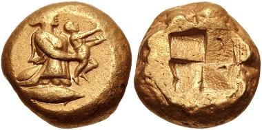 Lot 196: Mysia, Kyzikos. Stater, circa 450-330 BC. VF. Estimate: 3,000 USD.