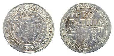 Los 416. RUMÄNIEN. Gabriel Bathory. Taler 1613. Sehr schön. Ausruf: 1.000 Euro. Zuschlag: 14.500 Euro.
