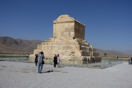 The tomb of Cyrus the Great is a popular destination for Iranians too, especially on Newroz. Photo: KW.