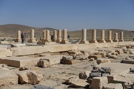 Die große Empfangshalle, in der Kyros II. seine Besucher beeindruckte. Foto: KW.