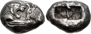 Croesus. Stater. From CNG sale, Triton XVIII (2015), 662.