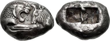 Kroisos. Stater. Aus Auktion CNG, Triton XVIII (2015), 662.