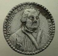 Deutschland. Medaille auf Martin Luther, 1546. Bernisches Historisches Museum, Inv. Nr. MA 87. © Bernisches Historisches Museum, Bern.