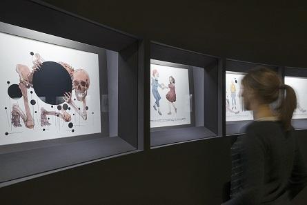 Blick in die Kabinettausstellung