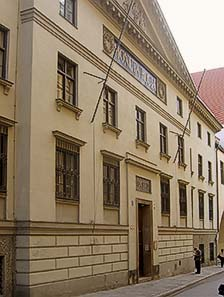 The former Old Mint today houses the Landesamt für Denkmalpflege.