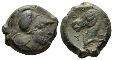 Lot 1: Etruria, Cosa Quartuncia, 273-250, AE. Ex Triton sale V, 2002, 3. Good Very Fine. Starting Bid: 600 GBP.