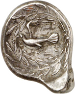 Nr. 158: Sikyon (Peloponnes). Stater, 431-400. Aus Slg. Lockett, SNG 2323 und Slg. Pozzi (1920), 1799. Selten. Sehr schön bis vorzüglich. Taxe: 1.500,- Euro.