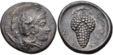 Lot 306: Cilicia, Soloi. Stater, circa 410-375 BC. Good VF. Estimate: 300 USD.