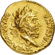 Indian imitation of a Roman aureus. From Künker sale 288 (13 March 2017), No. 680. Estimate: Euro 1,000.