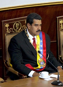 Nicolás Maduro bei seinem Amtsantritt als Präsident Venezuelas am 19. April 2013. Foto: Cancillería del Ecuador from Ecuador/ Wikimedia Commons / CC BY-SA 2.0