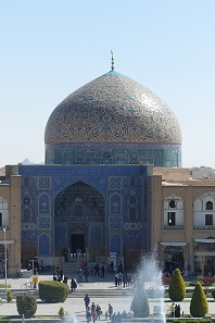 The private mosque of the Shah of Persia. Photo: KW.