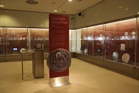 Blick in die Ausstellung. Copyright: OeNB