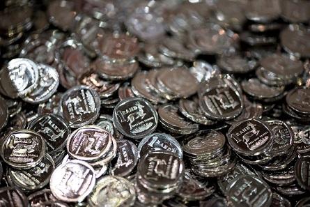 50 Jahre Krügerrand wurden gefeiert. Jeder Besucher erhielt zumindest zwei prägefrische Kursmünzen aus Südafrika.