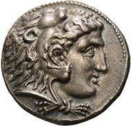 Tetradrachme, Alexander der Große, Arados 328-326 v.Chr., Silber. Copyright: OeNB