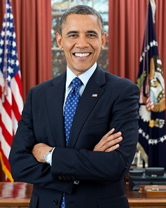 Former U.S. President Back Obama's official photograph in the Oval Office on December 6, 2012. Photo: Official White House Photo by Pete Souza / Wikipedia.