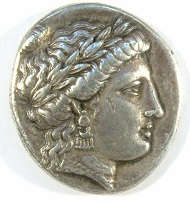 Arkadien. Stymphalos. Stater um 350 v. Chr. Boston Coll. 1269 Ex Münzkabinett Gotha, Auktion M&M 19, 1959, 442 und Slg.