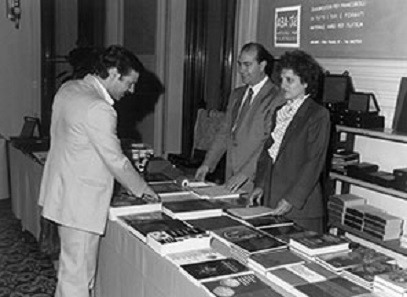 Salvatore Garretto, the Founder, and his wife Maria Salmin in the 80s. Photo: Abafil.