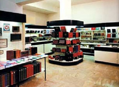 Show room in the centre of Milan. Photo: Abafil.