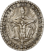 Religious medal Sonntagberg by P. Seel (middle of the 17th cent.). From Künker sale 289 (March 14, 2017), No 1547.